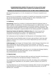 Protokoll der Gründungsversammlung (PDF) - Palliative ch