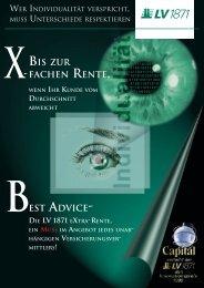 Flyer eXtra-rente - ADB