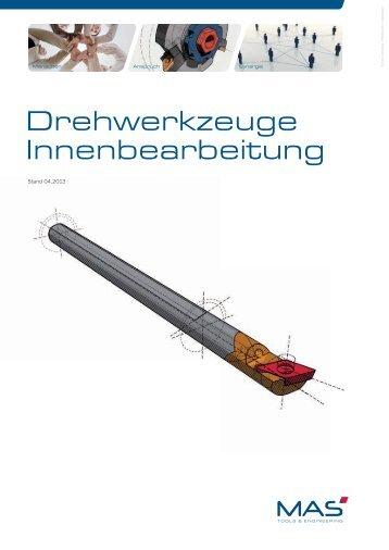 Drehkatalog Innenbearbeitung 2013.indd - MAS Tools & Engineering