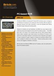 PC-based NVR - Camera Megapixels