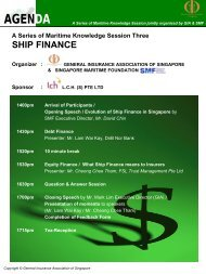 Speakers' Bio-data - General Insurance Association Of Singapore