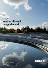 Ventiler til vand og spildevand - Linak