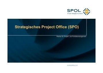 Strategisches Project Office (SPO) - Projekt Marketing