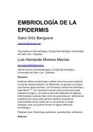 176 Embriologia de la epidermis - Antonio Rondón Lugo
