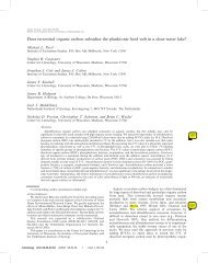 Page 1 Does terrestrial organic carbon subsidize the planktonic food ...
