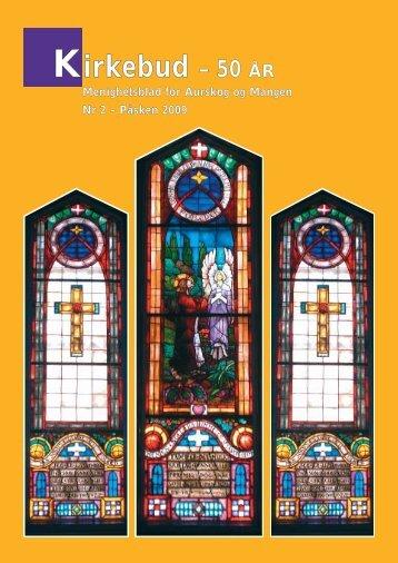 Kirkebud – 50 ÅR - Mediamannen