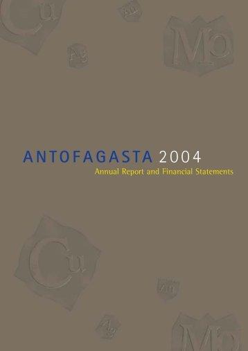 Annual Report 2004 - Antofagasta plc