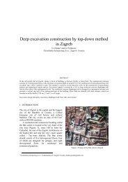 Deep excavation construction by top-down method in ... - Kivi Niria