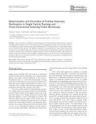 Determination and Correction of Position Detection Nonlinearity in ...