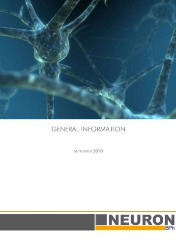 GENERAL INFORMATION - Neuron Bio