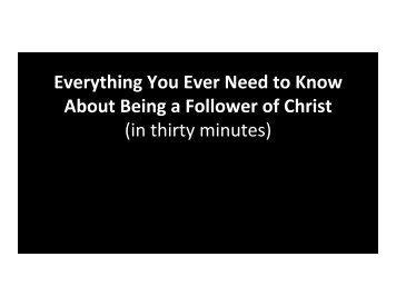 Slides - Christ the King Community Church