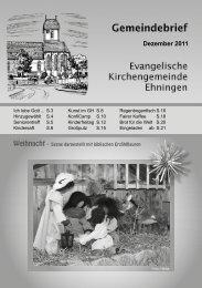 Download Gemeindebrief (pdf 4,2 MB) - Kirchen im Kreis Böblingen
