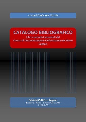 Lugano - Centro di Documentazione e Informazione sul Gioco