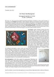 """""""A.R. Penck / Nino Baumgartner"""" - katz contemporary"""