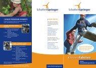 Senne- Umweltbildungszentrum - Schattenspringer