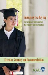 Graduating-to-a-Pay-Gap-The-Earnings-of-Women-and-Men-One-Year-after-College-Graduation-Executive-Summary-and-Recommendations