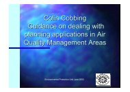Guidance on Dealing with Planning Applications in Air ... - IAPSC