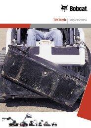 Tilt -Tach™ Especificaciones - Bobcat.eu
