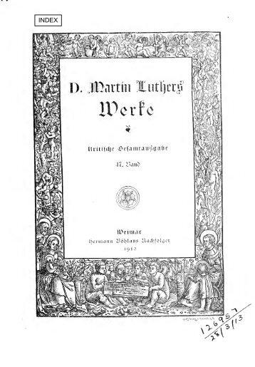 Reihenpredigten über Johannes 3-4 und Matthäus ... - Maarten Luther
