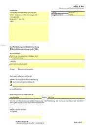 Bekanntmachung Öffentliche Ausschreibung nach VOB/A - Die ...