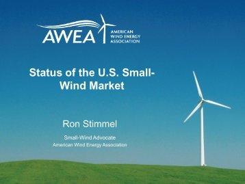 Status of the U.S. Small- Wind Market