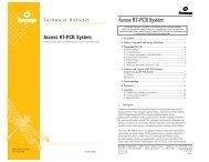 Access RT-PCR System Technical Bulletin, TB220