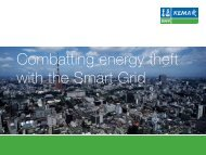Combatting energy theft with the Smart Grid - DNV Kema