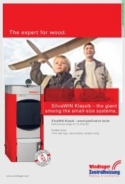 Silvawin Brochure - Artizan Heating