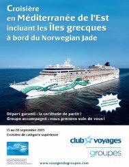 à bord du Norwegian Jade