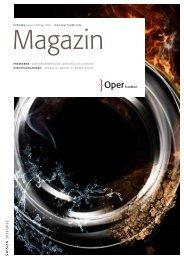 Opernmagazin Januar / Februar 2012 - Oper Frankfurt