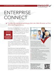 Download Datenblatt Enterprise Connect - Mesonic