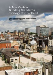 A Low Carbon Building Standards Strategy For Scotland - Scottish ...