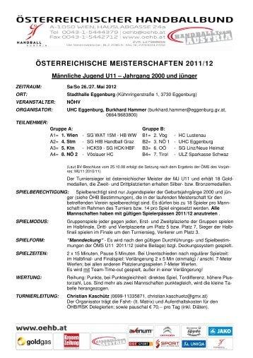 OEMS MU11_Ausschreibung_26-27 Mai ... - Vöslauer HC