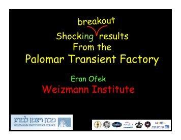 Palomar Transient Factory - Caltech