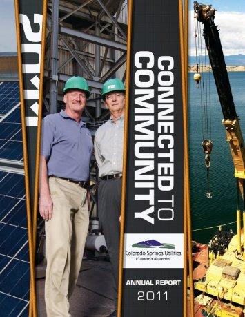 2011 Annual Report - Colorado Springs Utilities