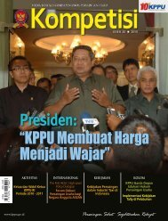 Edisi 20 Tahun 2010 - KPPU