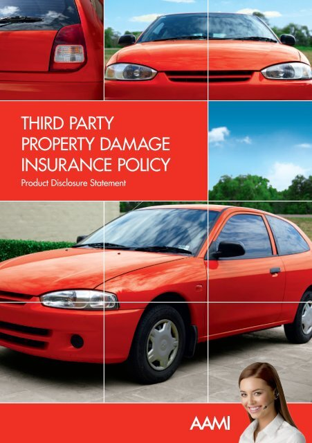 Third Party Property Damage Insurance Policy Aami