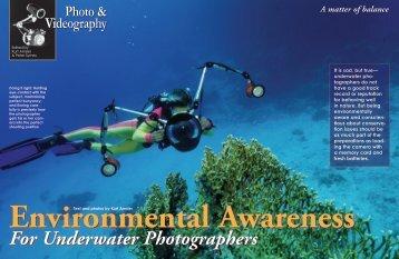 Environmental Awareness - X-Ray Magazine