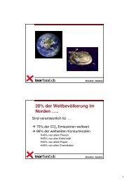 Gerhard Bärtschi - Ansätze in der Entwicklungszusammenarbeit