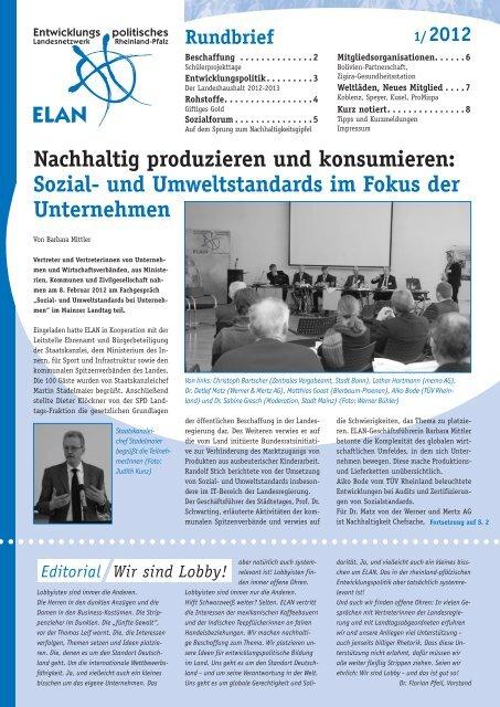 Rundbrief 01/2012 - ELAN