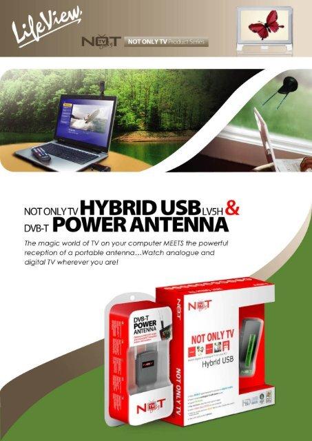 DVB-T POWER ANTENNA - NOT ONLY TV
