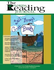 Spring 2012 - Florida Reading Association