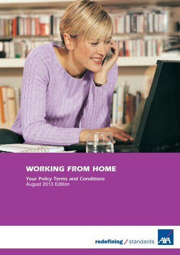 Working from home full policy document (PDF) - Business banking