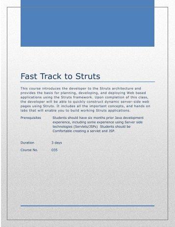 Fast Track to Struts.pdf