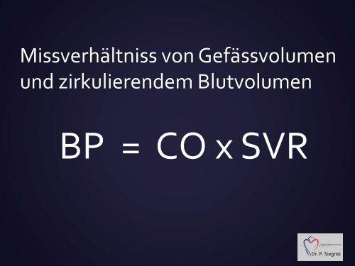Hypotonie - Vereinigung Zuercher Internisten