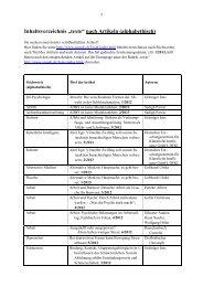 """Inhaltsverzeichnis """"texte"""" nach Artikeln ... - Szondi-Institut"""