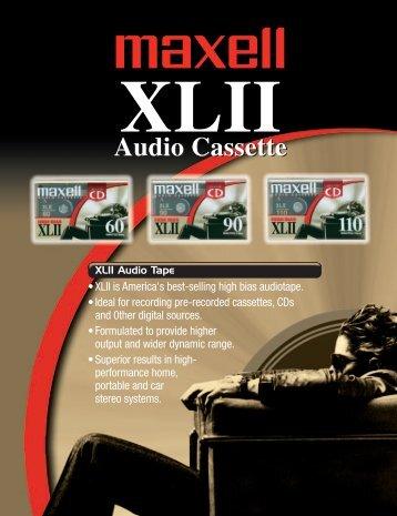 XLII Audio - Maxell Canada