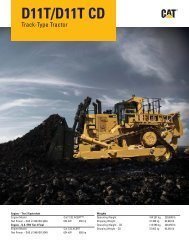 AEHQ6785-01, D11T/D11T CD Track-Type Tractor ... - Kelly Tractor