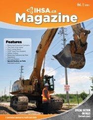 Vol. 13 ISSUE2 - Infrastructure Health & Safety Association
