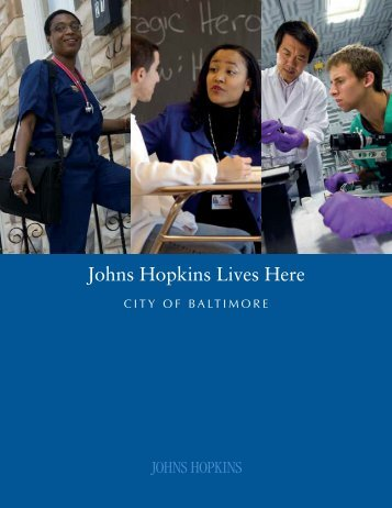 Johns Hopkins Lives Here: City of Baltimore - Appleseed